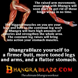 Why Bhangra blazes away the calories
