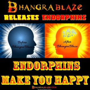 Endorphins make you happy...